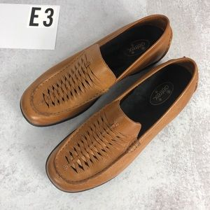 Aetrex leather comfort loafer 9.5